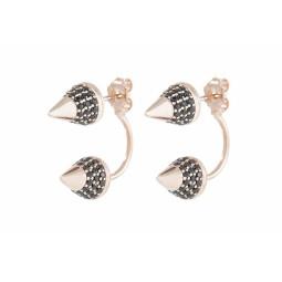 ARROWHEAD EARRINGS WITH CUBIC ZIRCONIA
